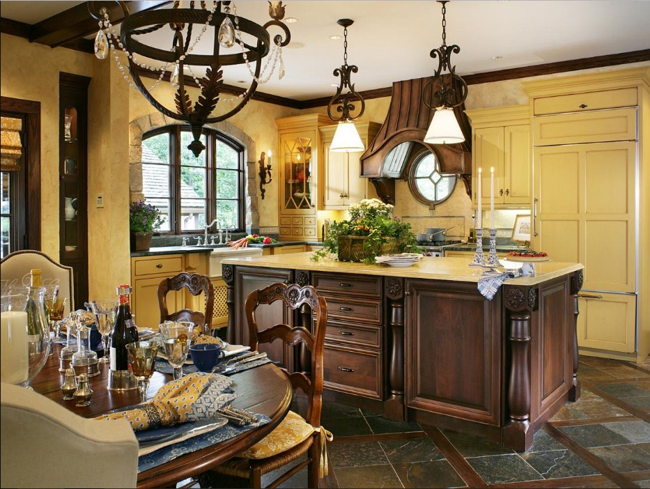 french country decor for small spaces