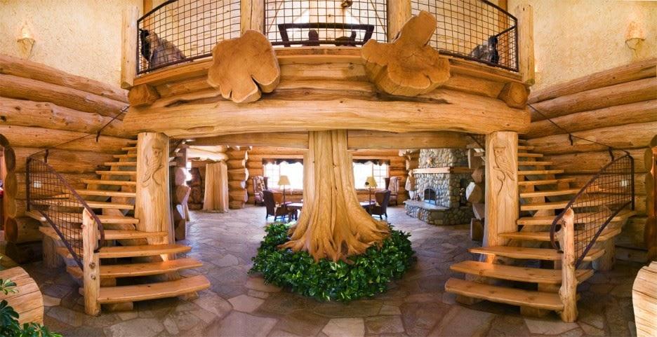 Image result for log cabin interior