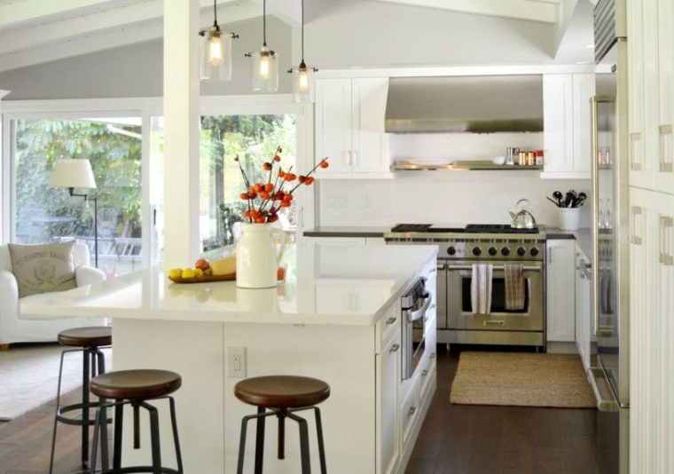 Sparkling White Quartz Countertops Inspirations With Pros