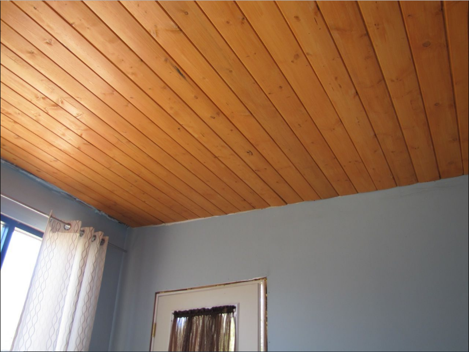 Wood Ceiling Panels ~ Stylish covered ceiling ideas to make it smooth